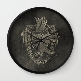 Ravenclaw House Wall Clock