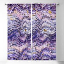 Purple Geode or Amethyst Blackout Curtain