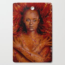 Dark Phoenix Cutting Board