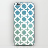 monogram iPhone & iPod Skins featuring Monogram by Chilligraphy