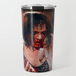 Adrenaline Shot - Mia Wallace - Pulp Fiction Travel Mug