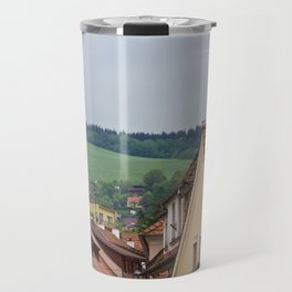 Cesky Krumlov Scenery Travel Mug