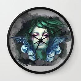 Blue Swan  Wall Clock