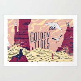 Graft - Golden Tides Art Print