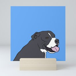 Cash The True Bluenose Pit Bull Mini Art Print
