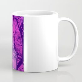 Pink and Blue Tree Coffee Mug
