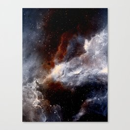 Dust, hydrogen, helium and other ionized gases Canvas Print
