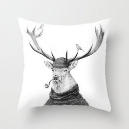 Wild Thinking Throw Pillow