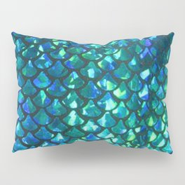 Mermaid Scales Pillow Sham