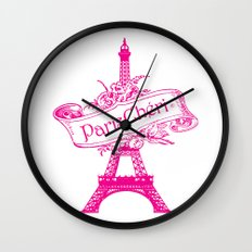 ParisChéri Wall Clock