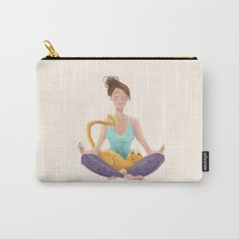 yoga time. Aummmmmmmm Carry-All Pouch