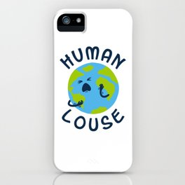 Human Louse iPhone Case