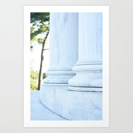 Jefferson Columns Art Print