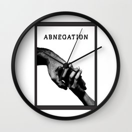 ABNEGATION - DIVERGENT (draw by me) Wall Clock