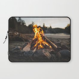 Campfires along the Coast Laptop Sleeve