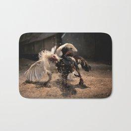 Cockfighting 4 Bath Mat