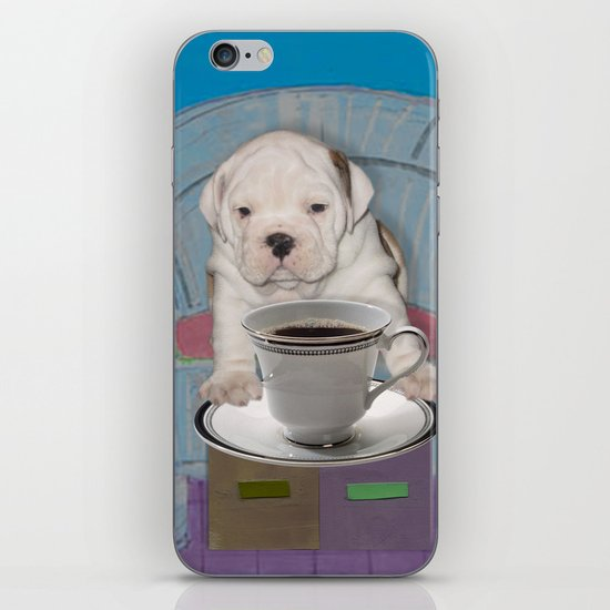 can't this wait until after my first cup iPhone Skin