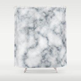 Marble Cloud Shower Curtain