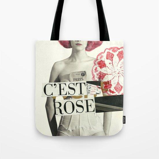 c´est rose Tote Bag