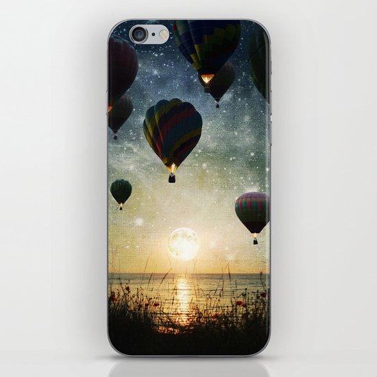 Lighting the night iPhone & iPod Skin