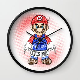 It's ME, Mario !  Wall Clock