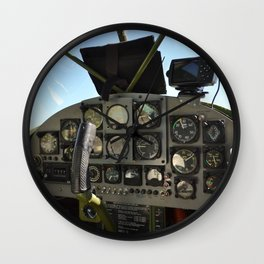 cockpit Wall Clock