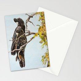 Black Cockatoos Stationery Cards