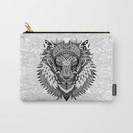 lion aztec art pattern Carry-All Pouch