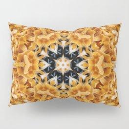 Mushroom mandala 6 Pillow Sham