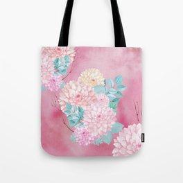 Dahlia Bush #society6 Tote Bag