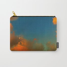Orange and Blue Skies Carry-All Pouch
