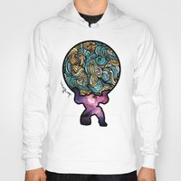 atlas Hoodies featuring ATLAS by Dani Herrera