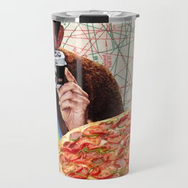 pizza obsession Travel Mug