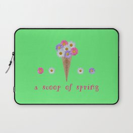A scoop of spring Laptop Sleeve