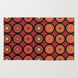 Circles and centers Rug