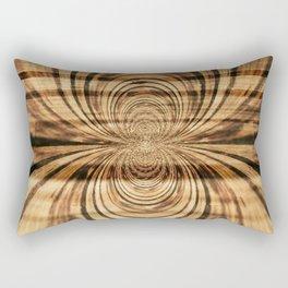 Spider Wood Rectangular Pillow