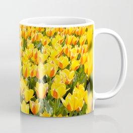 Plenty yellow and red Stresa tulips Coffee Mug