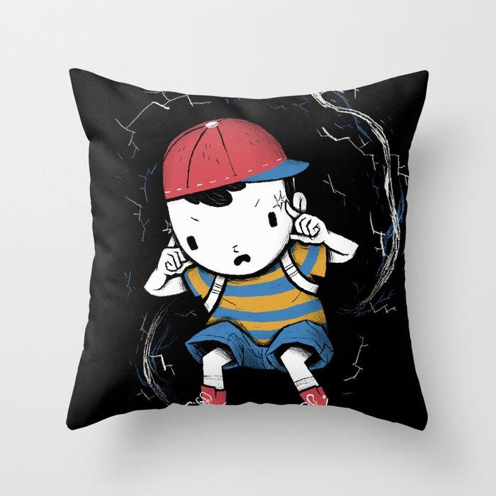 pk smash Throw Pillow