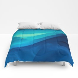 Blue Ocean Comforters