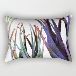 Aloe Plants Composition Rectangular Pillow