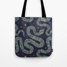 Space Serpent Tote Bag