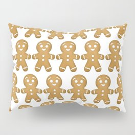 Gingerbread Cookies Pattern Pillow Sham