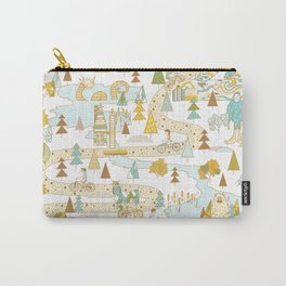Over the River and Through the Woods Carry-All Pouch
