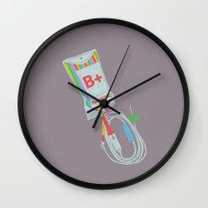 Be Positive Thinking Wall Clock