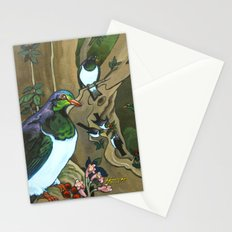 Pigeons, Parakeets and Fantails Stationery Cards
