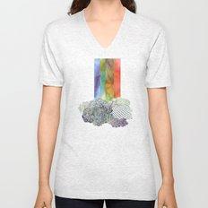 Clouds & Rainbow Unisex V-Neck