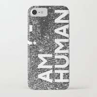 human iPhone & iPod Cases featuring ? Human by WeLoveHumans