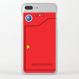 Pokedex Clear iPhone Case