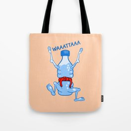 Water Karate Tote Bag