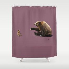 Brunt (Colour) Shower Curtain